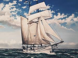 Seereise Schottland-Niederlande mit der Flying Dutchman