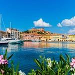 Elba Portoferraio alter Hafen